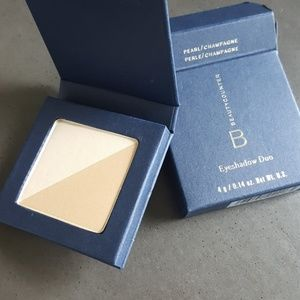 Beautycounter pearl champagne eyeshadow duo makeup