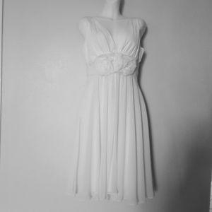 Teri Jon  white Bridal Dress