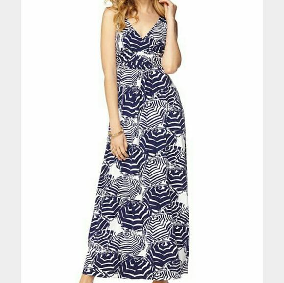 Lilly Pulitzer Dresses Sloane Maxi Dress Oh Cabana Boy Sm Poshmark