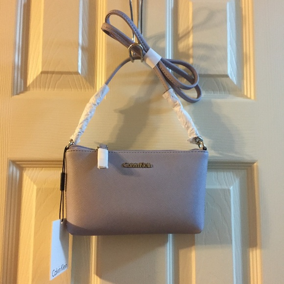 7e71d3983685 Calvin Klein Bags | Hayden Mini Saffiano Crossbody | Poshmark