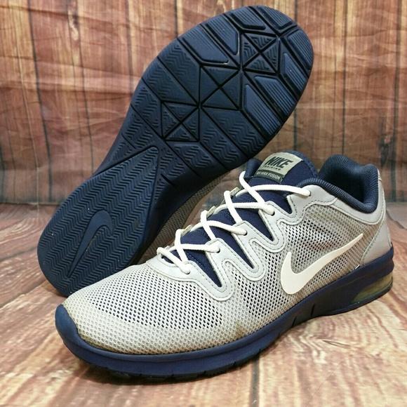 online store d6d03 82721 NIKE Air Max Fusion Training Shoe Gray Blu Wo s 8