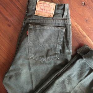 Vintage 512 cut Levi's