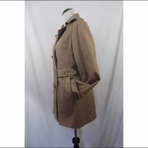 Halogen Jackets & Coats - NORDSTROM khaki long sleeve double dressed trench