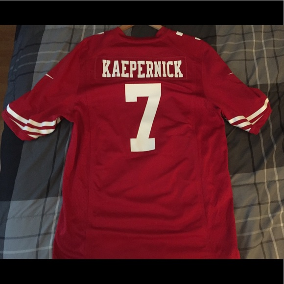 huge selection of 19e31 d3502 COLIN KAEPERNICK JERSEY - LIKE BRAND NEW CONDITION