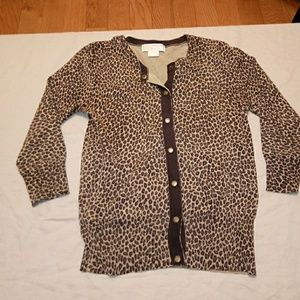 Michael Kors Cheetah print sweater