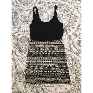 Kirra Tribal Print Bodycon Dress