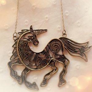 Jewelry - 🦄 LAST ONE! Unicorn bib necklace 🦄