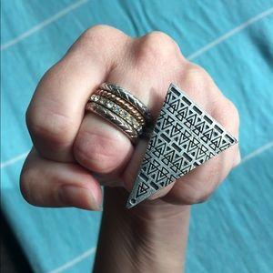Triangle Ring Bundle! 🔻