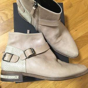 Freda Salvador Steer Belted Ankle Boot - 9.5
