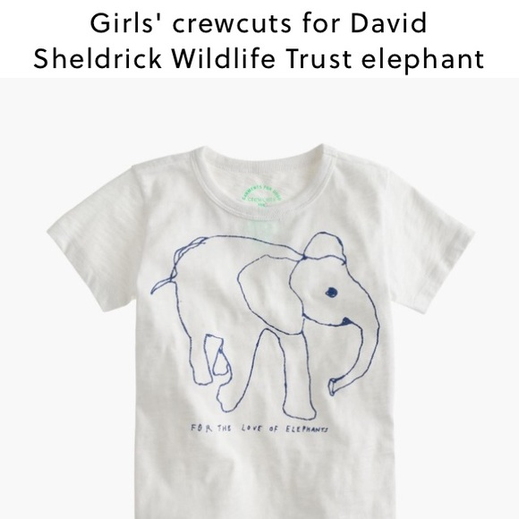 ce7c3f848837a J. Crew Other - crewcuts for David Sheldrick Wildlife Trust 🐘