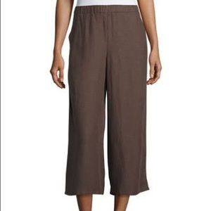 EILEEN FISHER Brown Pants