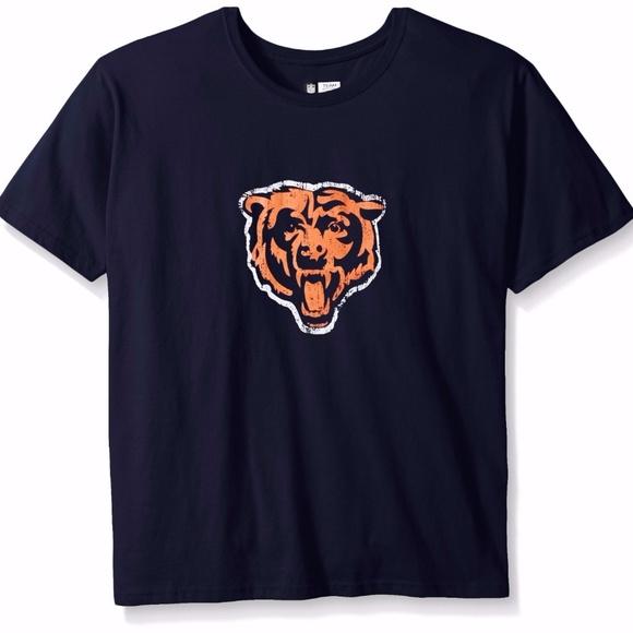 4869696d4 Chicago Bears Women s Plus Size Short Sleeve Tee