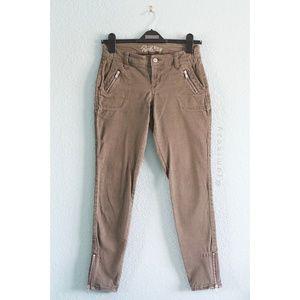 Old Navy (Petite) Rockstar Ankle Zip Skinny Pants