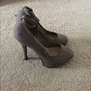 ASOS size 5.5 women's high heeled shoes w/ strap