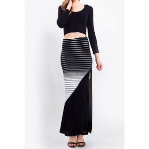 Doppler Effect Maxi Skirt