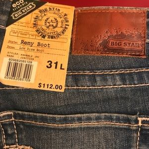 6e6b408dee5 Big Star Jeans | Catalina Stone Wash Liv Bootcut | Poshmark