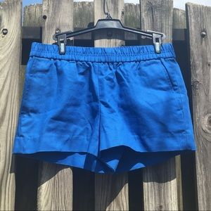 NWT J Crew Blue Shorts Size 2