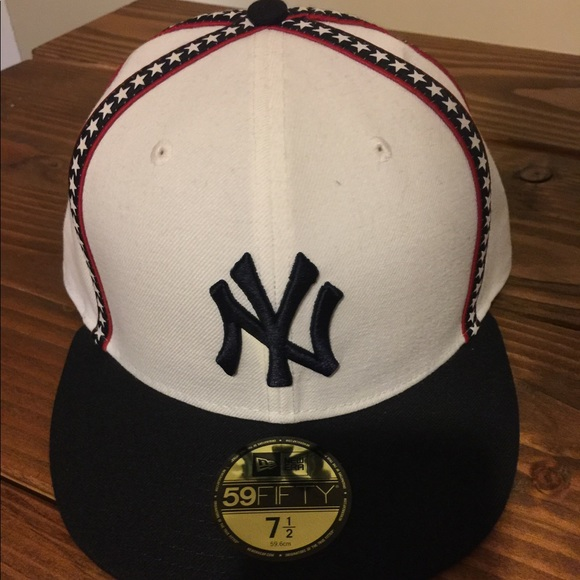 261361d7580 NY YANKEES 7.5 fitted baseball hat - New Era - NEW