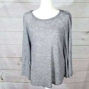 EUC Bellatrix grey poncho - M