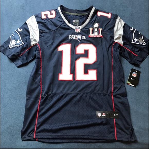 super popular 3cc16 4f7dc Tom Brady Super Bowl 51 Jersey NWT