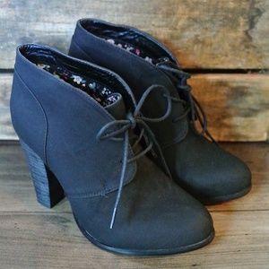Torrid Booties - Size 8 Black