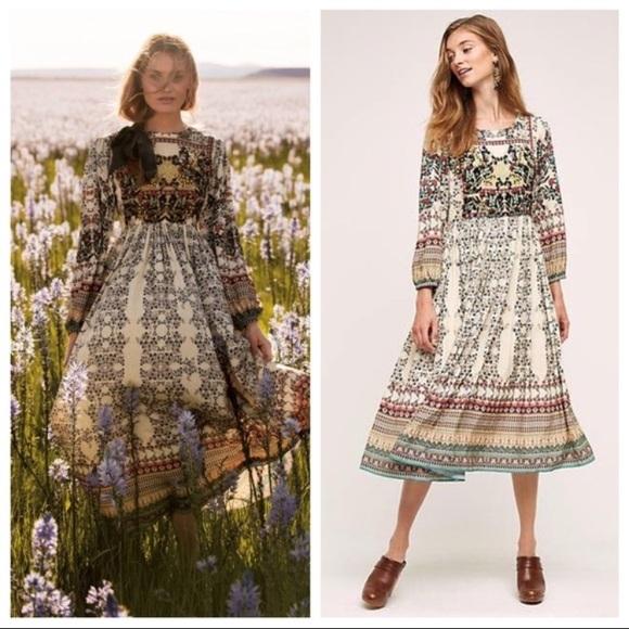 434f553822b20 Anthropologie Dresses | Far Fields Maxi Dress By Bhanuni | Poshmark