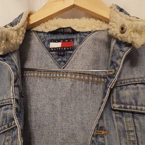 Tommy Hilfiger Jackets & Coats - Tommy Hilfiger Jean Jacket, Girls Size L