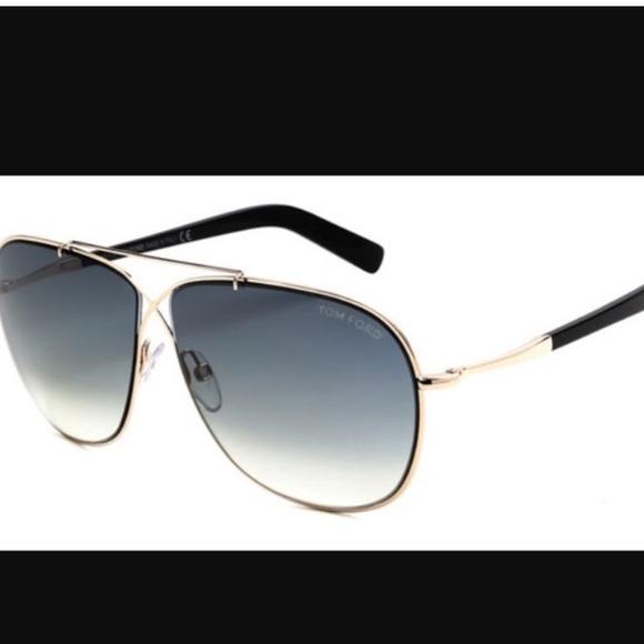 af3b8813b4ab Tom Ford gold cross signature April sunglasses. M 599f93cc56b2d66b32008f3c