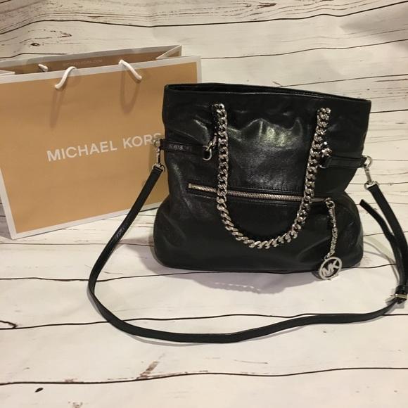 9e7f5b59adea Michael Kors Bags | Sale Black Vintage Style Purse | Poshmark