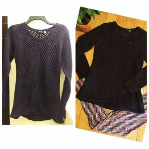 🌿{5 for $25} Open Knit Long Sleeved Sweater