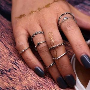 Jewelry - Midi rings set