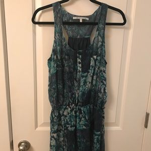 Nwot collective concepts silk dress