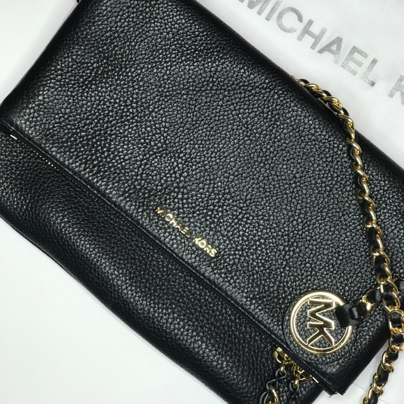 8f0f63211b3d Michael Kors Black Corinne Medium Crossbody. M_599fa091f09282c93600dfe5