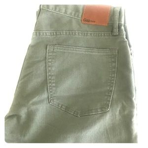 Gap Men's Straight Leg Hunter Green Jeans 31X32