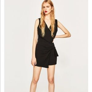 Zara Jumpsuit with Asymmetric Skort