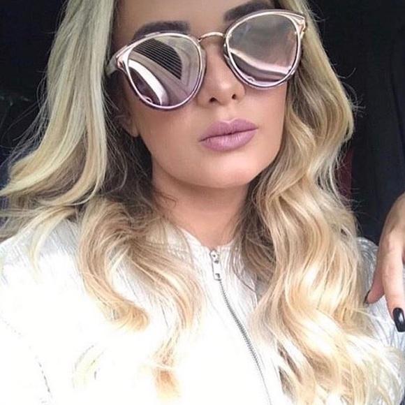 7fc019b79cb Christian Dior rose gold Sunglasses