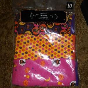 Other - Pack of 3 bikini style underwear Halloween print
