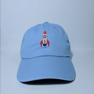 Other - Rocket embroidered polo dad hat