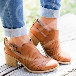 ELIZA Cut Out Bootie