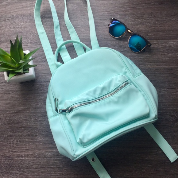d146814a67ae Forever 21 Handbags - Mint Green Mini Backpack