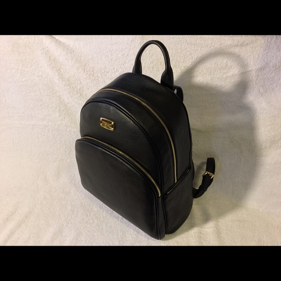 97a921cd47a2 MICHAEL Michael Kors Bags | Nwt Abbey Large Jet Set Leather Backpack ...