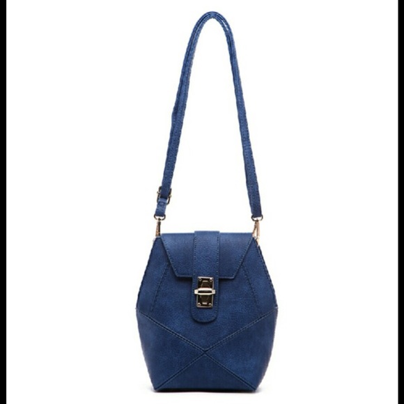 Handbags - Blue crossbody purse