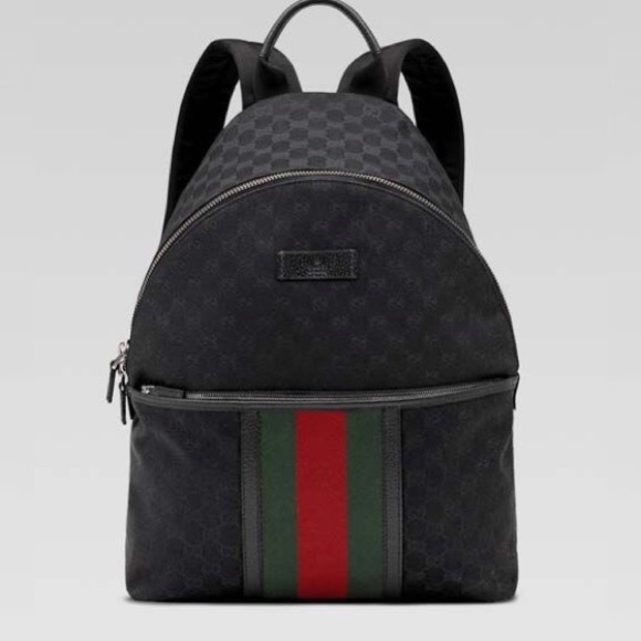 6bbe3f0eb24d Gucci Handbags - Unisex Gucci Backpack