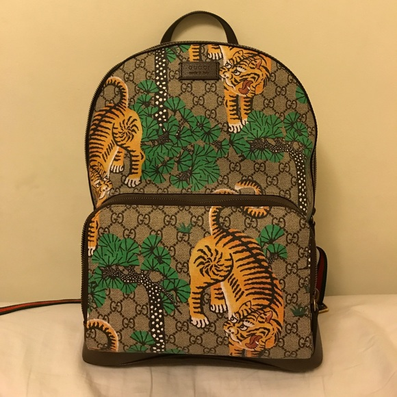 893c457b3dc9 Gucci Other - Gucci bengal backpack