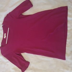 Elbow scoop cotton top