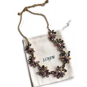 J. Crew Gemstone Cluster Necklace
