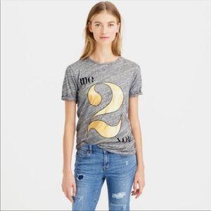 """J Crew """"Me 2 You"""" T Shirt"""