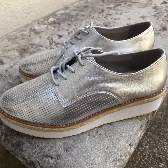 c350188e9389 Aldo Shoes - New ALDO Womens Metallic Sneaker - Size 9 - Silver