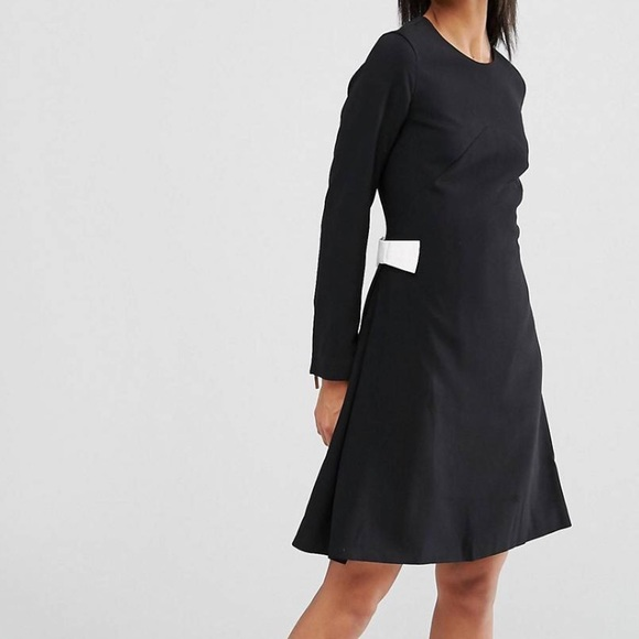 c04b61de96c3b2 Ted Baker Emorly Long Sleeve Shift Dress with Bows best shoes 89c1e 68dbc  ...