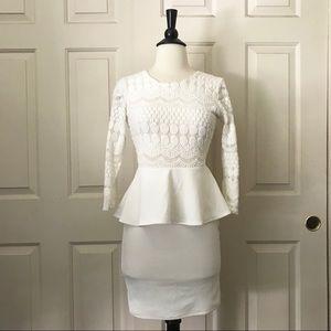 Ivory Dress Small